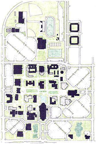 uco edmond campus map Jim Watson S Uco Portfolio